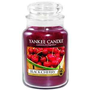 Yankee Candle Housewarmer Black Cherry Jar Small