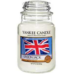 Yankee Candle Housewarmer Union Jack Jar