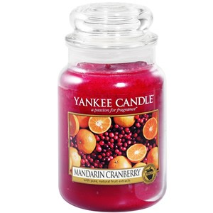 Yankee Candle Housewarmer  Mandarin Cranberry Jar Large