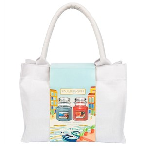 Yankee Candle Riviera Escape 2 Medium Jar Tote Bag Gift Set