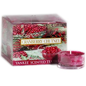 Yankee Candle Tea Light - Cranberry Chutney