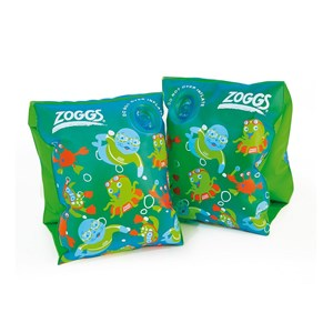 Zoggs Swim Bands Green Zoggy