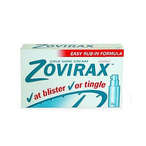 Zovirax Cold Sore Cream Pump