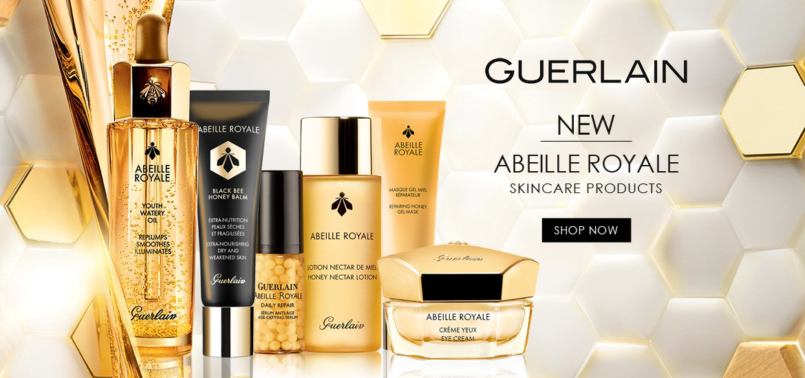 NEW Guerlain Abeille Royale Skincare Products