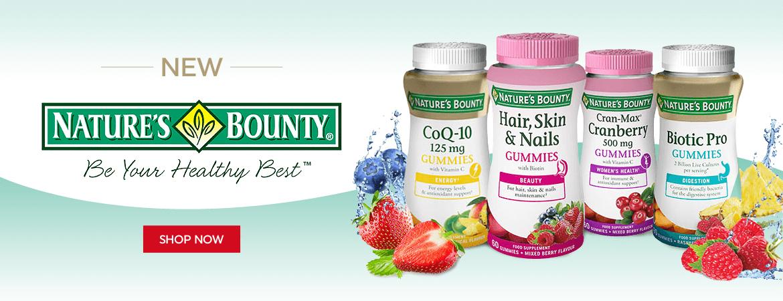Natures Bounty - New Supplement Brand