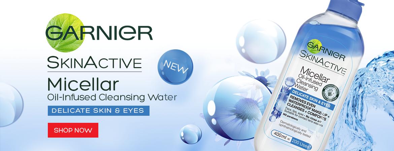 Garnier Micellar Water Delicate Skin and Eyes