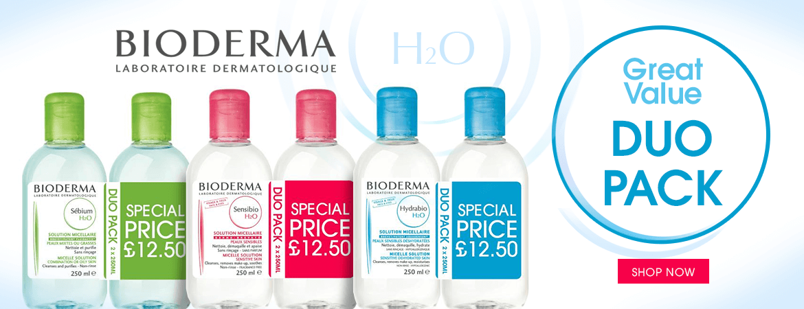 Bioderma H2O Duo Pack Great Value