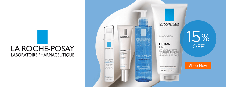 15% Off  La Roche-Posay Skin Care products