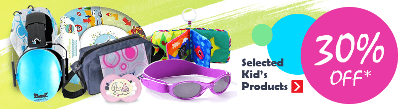 30% off selected Kid's products