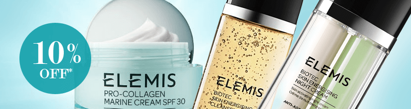 10% off Elemis products