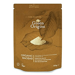 Green Origins Organic Raw Baobab Powder