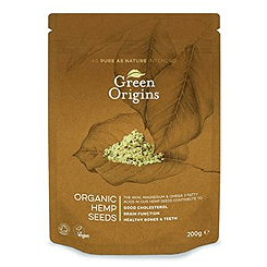 Green Origins Organic Shelled Raw Hemp Seeds