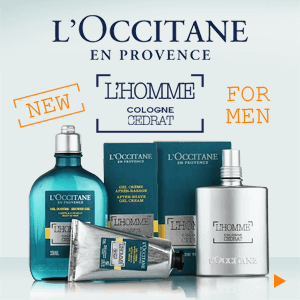 L'Occitane New Cologne Cedrat