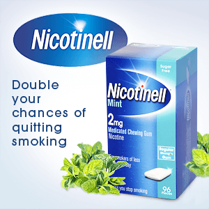 Nicotinell - Double your changes of quitting smoking