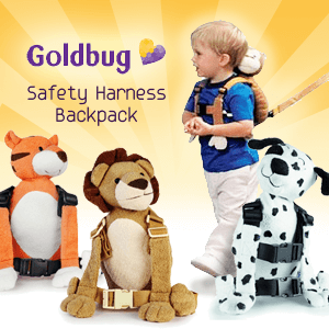 Goldbug - Safety Harness Backpack