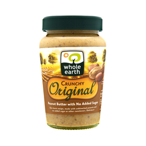 Whole Earth Original Crunchy Peanut Butter