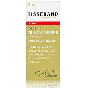 Tisserand Black Pepper Organic Essential Oil