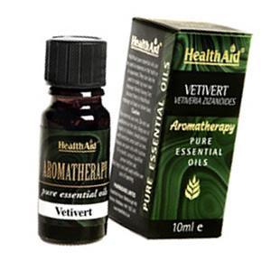 HealthAid Single Oil - Vetivert Oil (Vetiveria zizanoides)