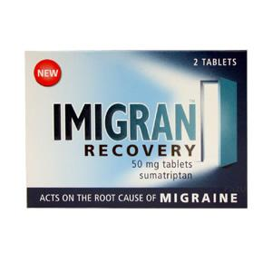 Imigran Recovery 50 mg Tablets