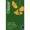 Clipper Fairtrade Green Tea and Gingko