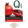 Qi White Tea & Pomegranate
