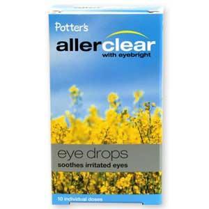 Potters Allerclear Eye Drops