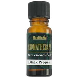 HealthAid Single Oil - Black Pepper Oil (Piper nigrum)