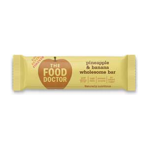 The Food Doctor Food Bar Pineapple & Banana Bar