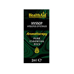 HealthAid Single Oil - Hyssop Oil (Hyssopus officinalis)