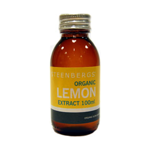 Steenbergs Organic Lemon Extract