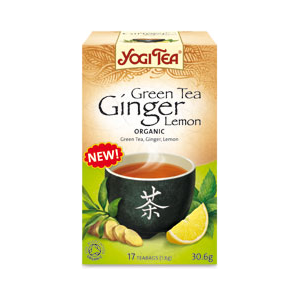 Yogi Organic Green-Ginger Lemon Tea