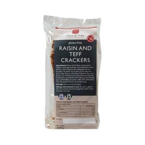 Consenza Raisin & Teff Crackers