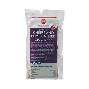 Consenza Cheese & Pumpkin Seed Crackers