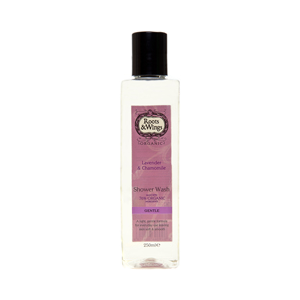 Roots & Wings Organic Gentle Lavender & Chamomile Shower Wash