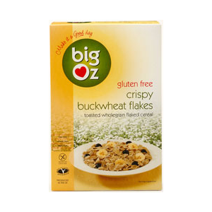 Big Oz Toasted Buckwheat Flakes