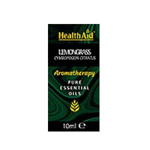 HealthAid Single Oil - Lemongrass Oil (Cymbopogon citratus)