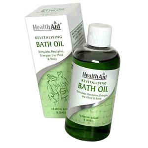 HealthAid Bath Oil - Revitalising Bath Oil