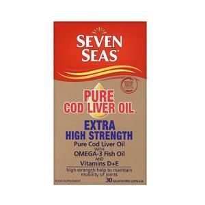 Seven Seas Pure Cod Liver Oil Extra High Strength