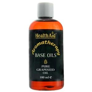 HealthAid Base Oil - Grapeseed Oil