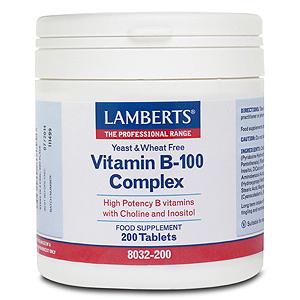 Lamberts Vitamin B-100 Complex