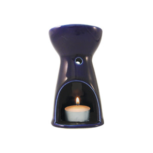 Image of Absolute Aromas Oil Burner - Cobalt Blue
