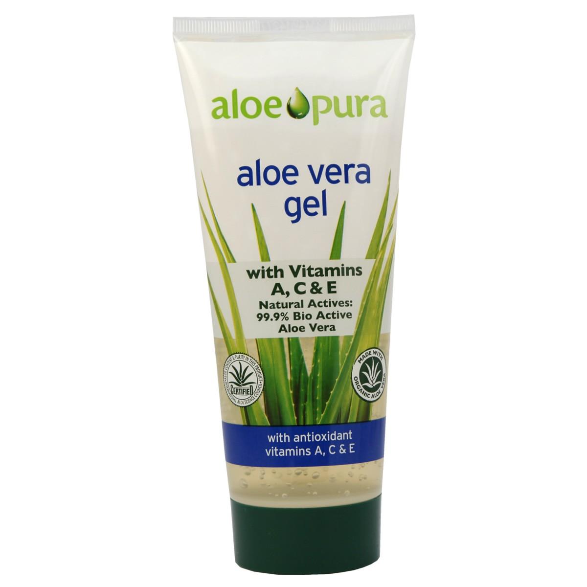 Aloe Pura Aloe Vera Gel Vit A C & E