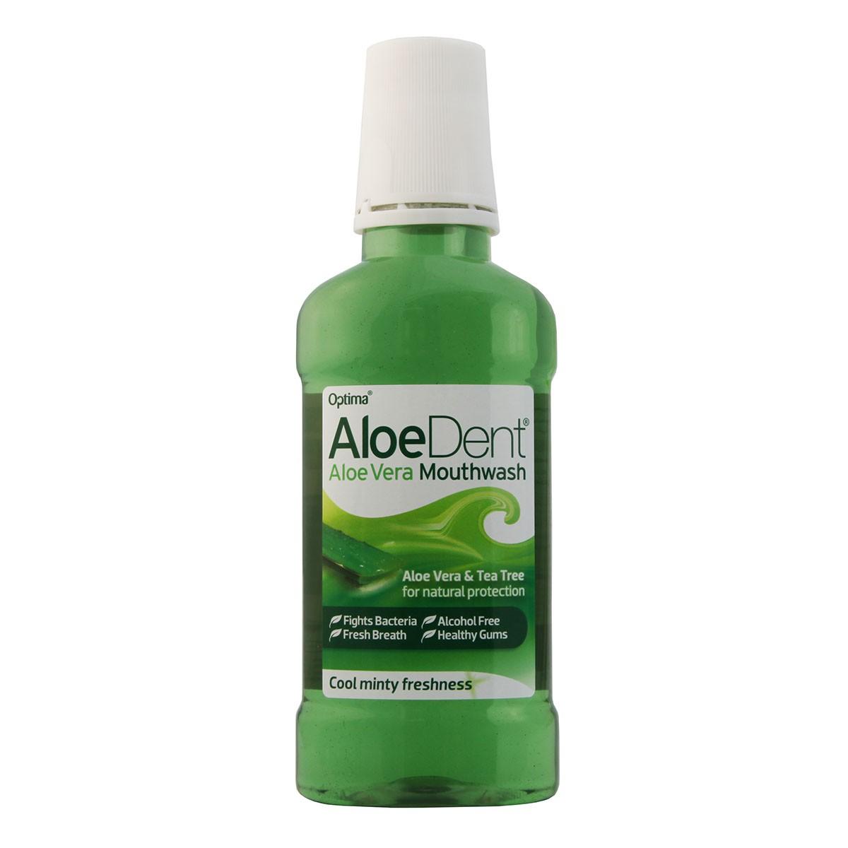 AloeDent Aloe Vera & Tea Tree Mouthwash