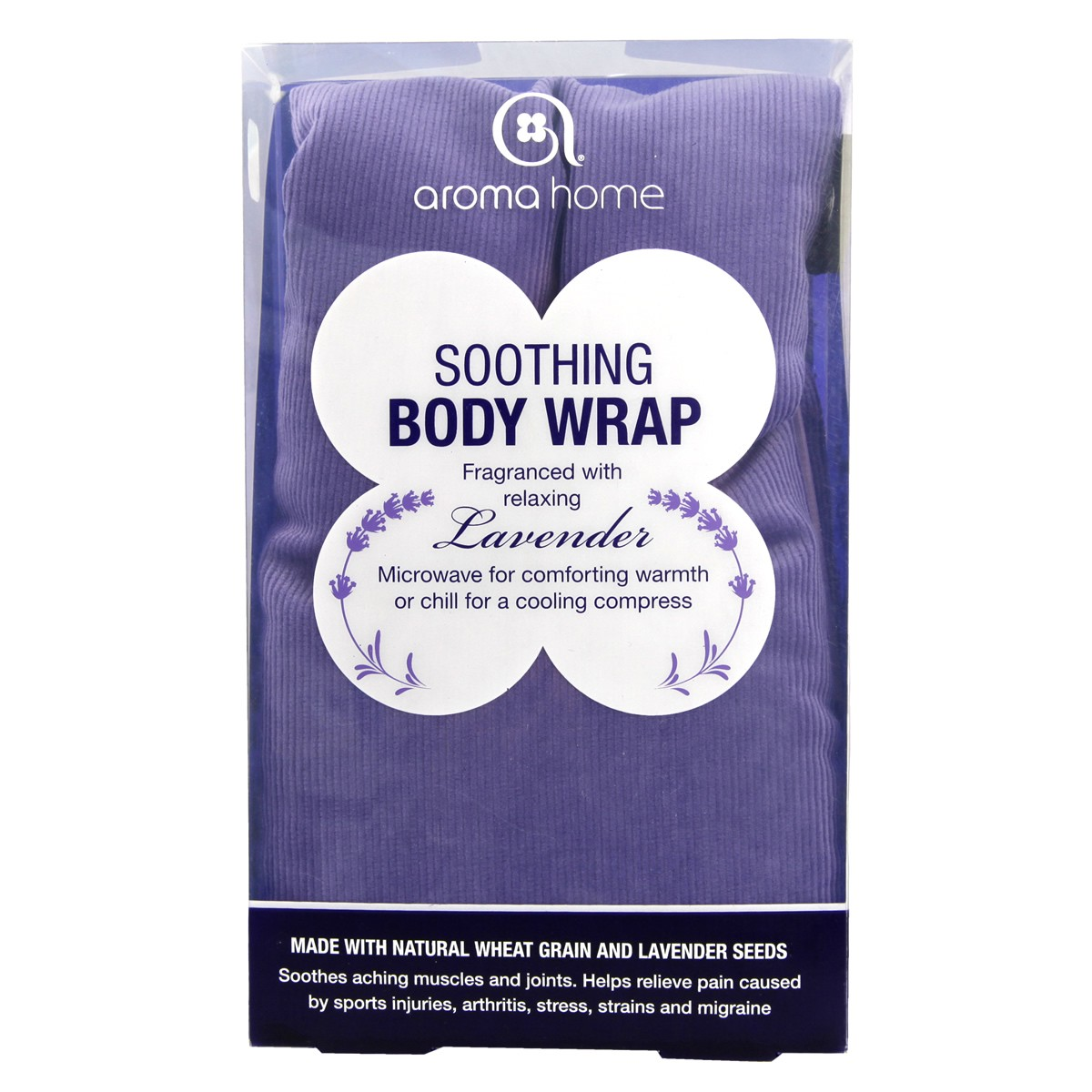 Aroma Home Soothing Body Wrap - Purple