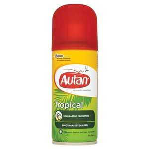 Autan Tropical Long Lasting Protection Dry Spray