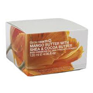 Brown Earth Mango Shea Cocoa Body Cream