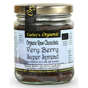 Carley's Organic Raw Chocolate Berry Spread