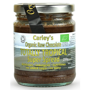 Carley's Organic Raw Chocolate Tropical Spread