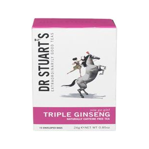 Dr Stuarts Triple Ginseng Plus Herbal Tea