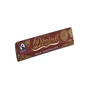Divine Chocolate Milk Chocolate 40g